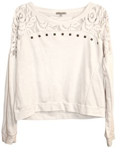 Charlotte Russe Lace Studs Studded Sweater
