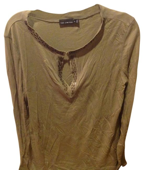Preload https://img-static.tradesy.com/item/12987856/the-limited-olive-green-sequins-details-tee-shirt-size-16-xl-plus-0x-0-1-650-650.jpg