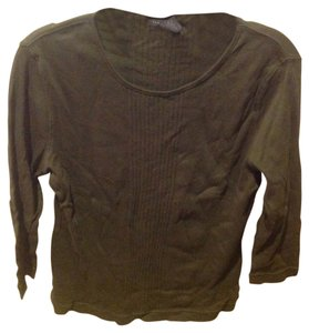 Express Tee Never Worn T Shirt Olive Geeen