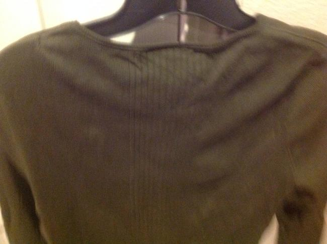 Express Never Worn T Shirt Olive Geeen Image 2