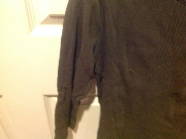 Express Never Worn T Shirt Olive Geeen Image 3