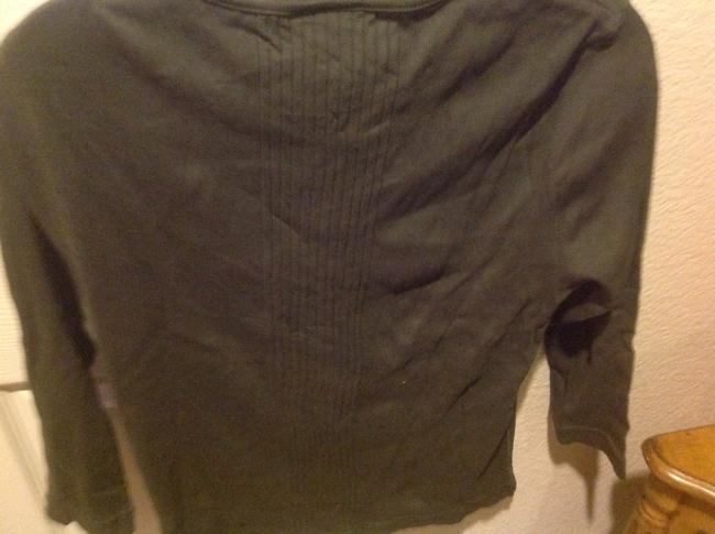 Express Never Worn T Shirt Olive Geeen Image 4