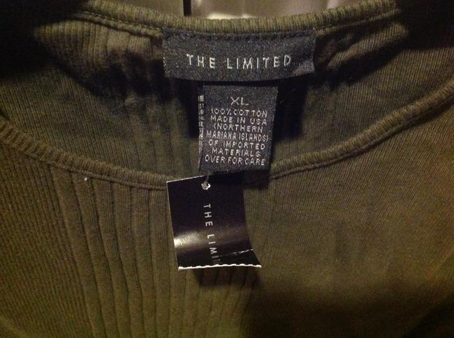 Express Never Worn T Shirt Olive Geeen Image 5