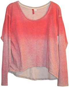 H&M Ombre High Low Sweater Workout Sweatshirt