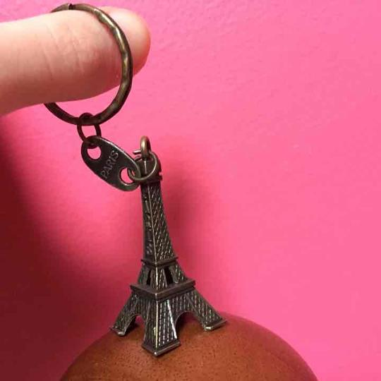 Other Rustic Design Eiffel Tower Keychain Image 1