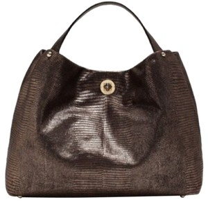 Kate Spade Sjp Willa Stardust Tote in Chocolate Brown