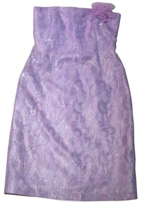 Kay Unger Although Lining Has A High Stain Not Seen From Exterior Dress