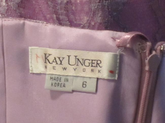 Kay Unger Although Lining Has A High Stain Not Seen From Exterior Dress Image 2
