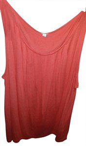 J.Crew Sleeveless Soft Top Pumpkin orange