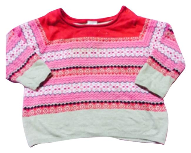 Preload https://img-static.tradesy.com/item/12989101/h-and-m-red-pink-and-white-infant-clothing-sweaterpullover-size-6-s-0-1-650-650.jpg