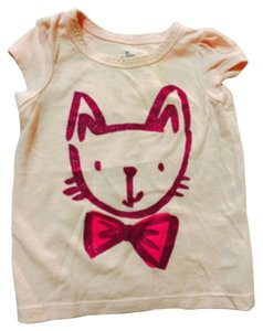 Circo T Shirt Pink with purple cat