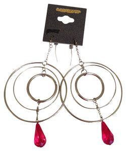 Express Express Statement Hoop Earrings