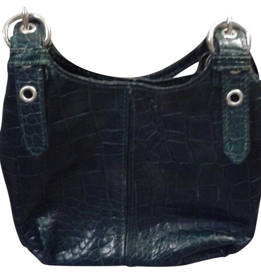Preload https://img-static.tradesy.com/item/12990457/cecconi-hunter-green-leather-baguette-0-2-540-540.jpg