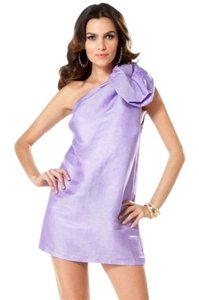 bebe short dress lilac on Tradesy