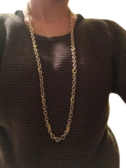 Preload https://item3.tradesy.com/images/jcrew-gold-yellow-and-chain-necklace-1299072-0-0.jpg?width=440&height=440
