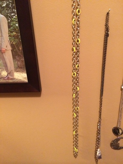 J.Crew J Crew Gold and Yellow Chain Necklance