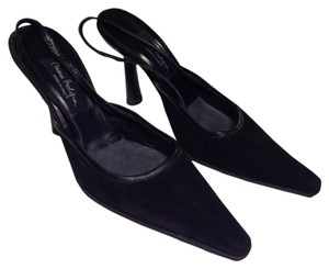 Mario Bologna Black Pumps