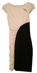 Sangria Two-tone Bodycon Dress