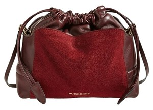 Burberry Clutch Deep Claret Little Crush Cross Body Bag