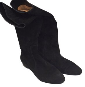 Via Spiga Black suede Boots