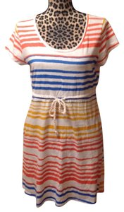 H&M Striped Cotton Coverup Dress