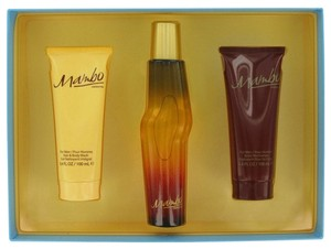 Liz Claiborne MAMBO by LIZ CLAIBORNE ~ Men's Gift Set -- 3.4 oz Cologne Spray + 3...