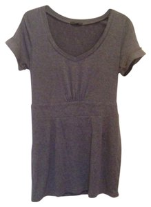 Lucca Couture short dress Gray heather on Tradesy