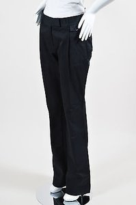 Prada Cotton Boot Cut Pants