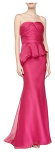 Carmen Marc Valvo Organza Gown Dress