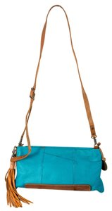 Will Leather Goods Goldtone Hardware Crossbody Strap Hobo Bag