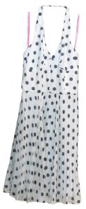Betsey Johnson Polka Dot Halter Dress