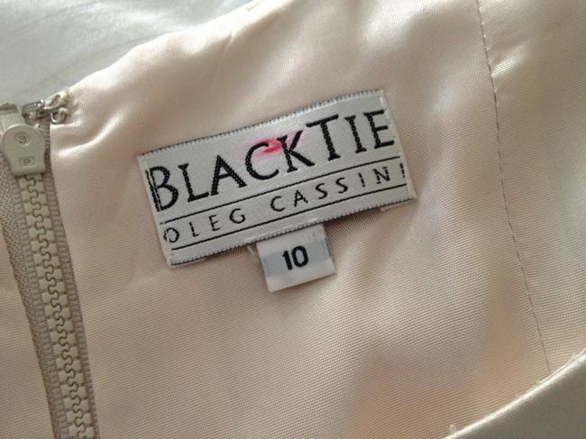 Oleg Cassini/Black Tie Top Off White