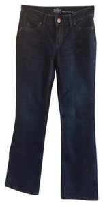 New York & Company Boot Cut Jeans-Dark Rinse