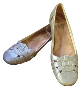 LifeStride Casual Jeans Beige Flats