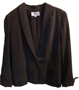 Badgley Mischka Dark Taupe or brown Blazer