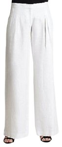 Michael Kors Linen Trouser Pants WHITE