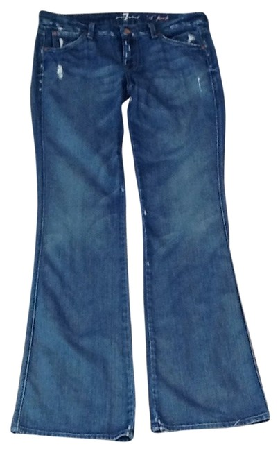 Preload https://item3.tradesy.com/images/7-for-all-mankind-distressed-a-pocket-flare-leg-jeans-size-29-6-m-1299622-0-0.jpg?width=400&height=650