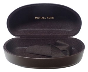 Michael Kors Michael Kors Dark Brown Large Sunglasses Case
