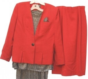 STERLING COOPER 4 Piece - 2 Jacket Blouse