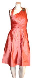 Kay Unger Halter Silk Dress