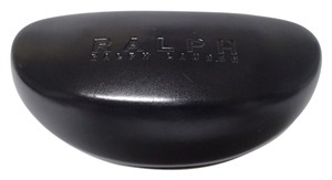 Ralph Lauren Ralph Lauren Sunglasses Case Black Patent Leather Finish Hard Clamshell Oversize