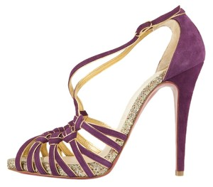 Christian Louboutin Purple Sandals