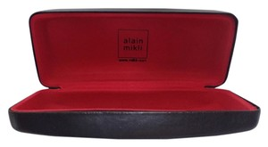 alain mikli Alain Mikli Sunglasses/Eyeglasses Case Black Patent Leather Finish