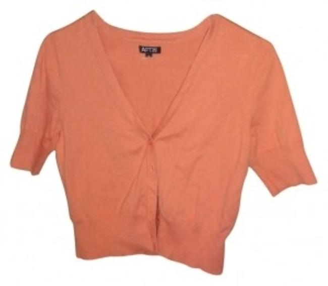 Preload https://img-static.tradesy.com/item/129983/apartment-9-peach-cardigan-size-8-m-0-0-650-650.jpg