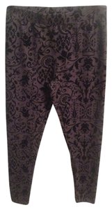 H&M Legging Velvet Black Leggings