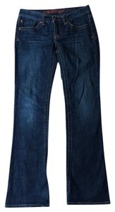 Wicked west Boot Cut Jeans-Dark Rinse