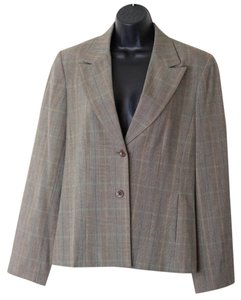 Rafaella Size 12 New W/ Tags Brown Blazer