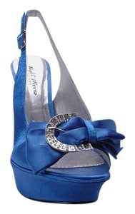 coloriffics Royal blue Platforms