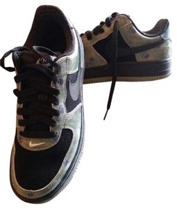 Nike Air Force 1 Sneaker Black Athletic