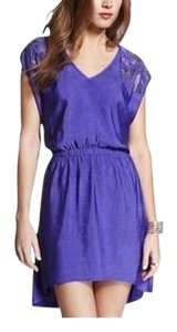Express short dress Purple Embellished Tee Embellished Hi Lo Hi Lo Spring on Tradesy